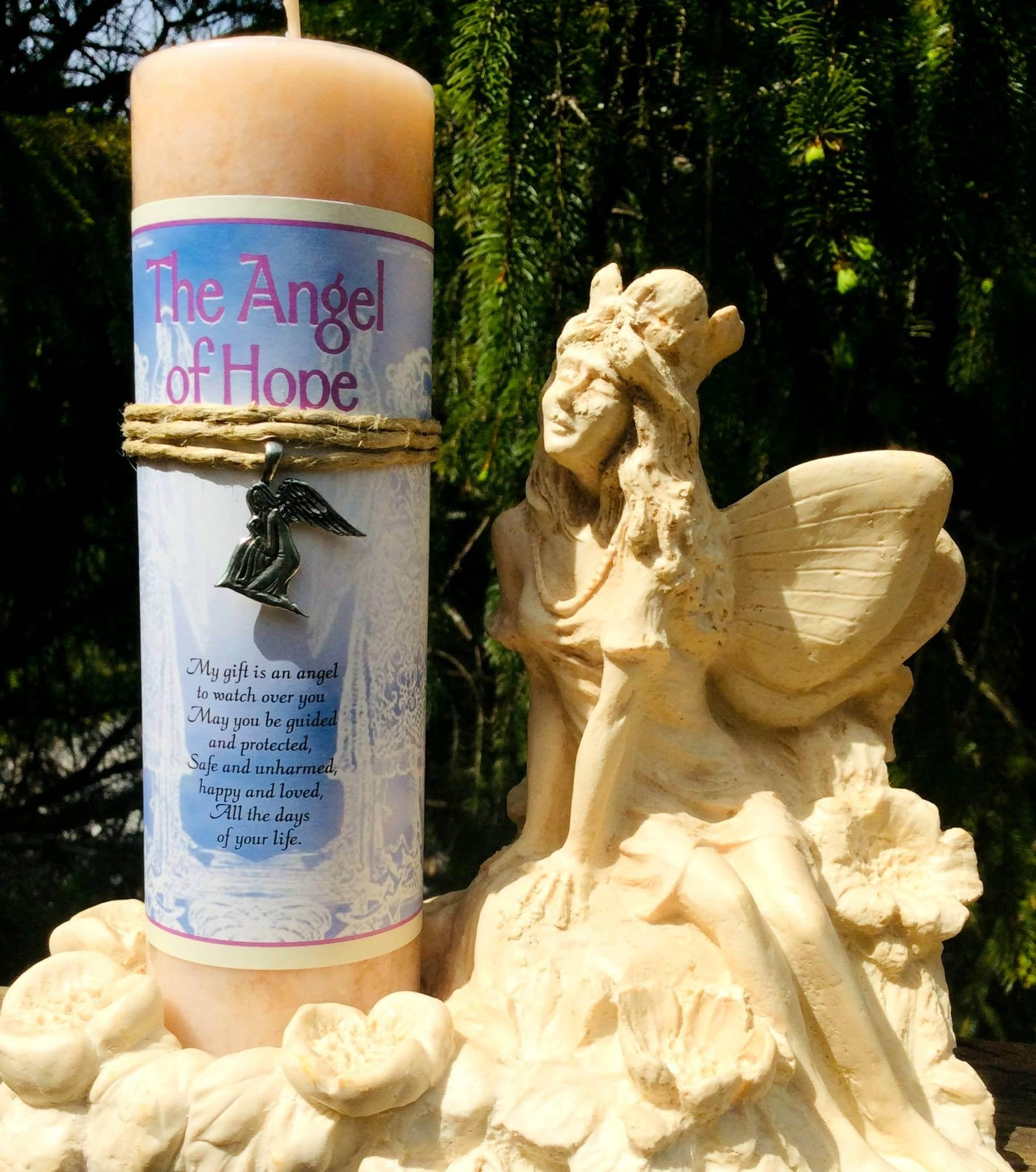 Angel of Hope Candle at MVC