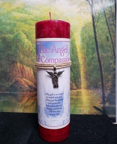 Angel of Compassion Candle
