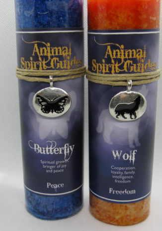 Scented Candles with animal spirits