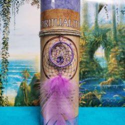 Dreamcatcher Spirituality Candle