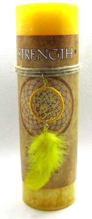 Dreamcatcher strength candle