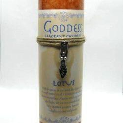 Goddess Lotus Candle