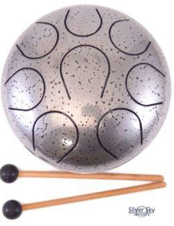 432 hz metal chakra drum