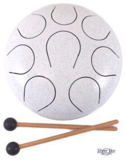 440hz white chakra drum
