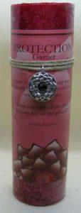Scented Protection Candle with Pewter Pendant