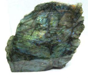 Labradorite partly polished sculpture