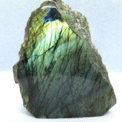 Labradorite partially polished sculpture