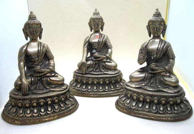 Brass Buddha Mudras