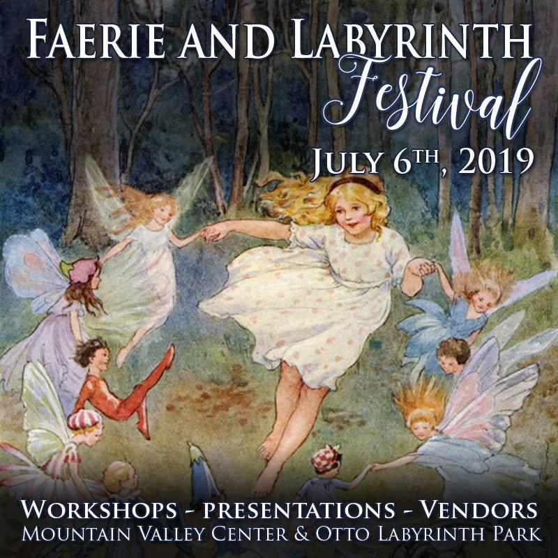 2019 Fearie Gathering at the Otto Labyrinth Park