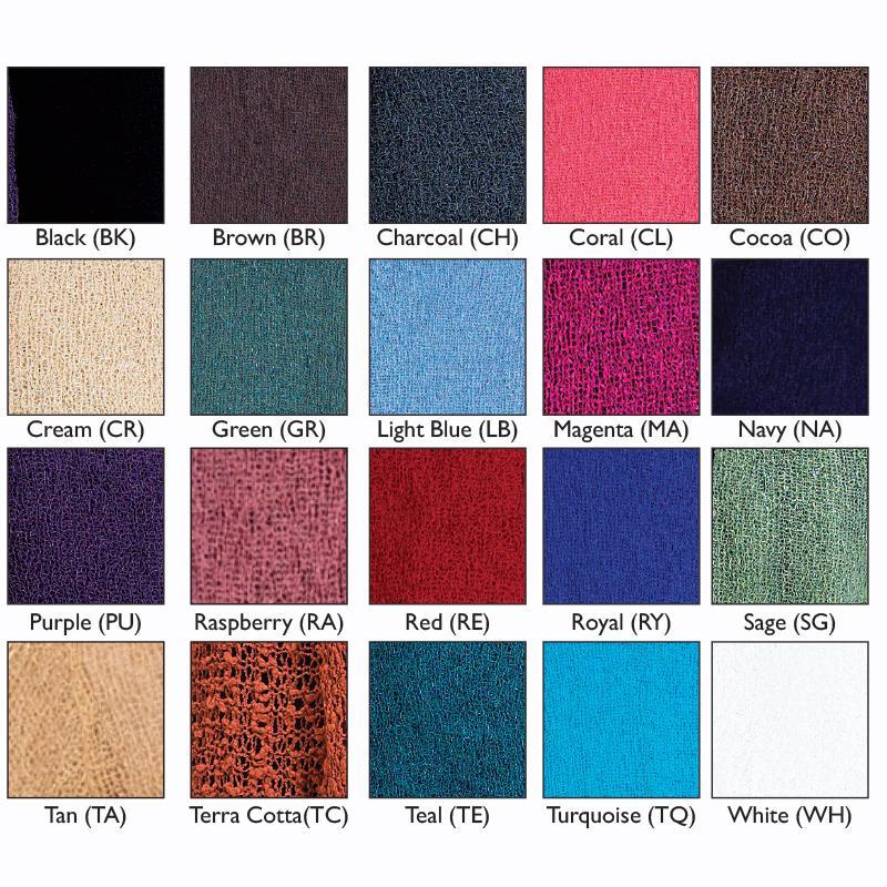 Shawl colors