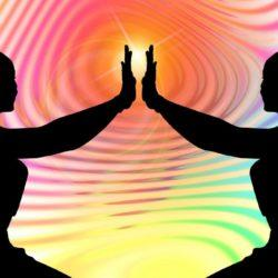Reiki Energy between two women