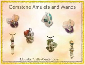 Gemstone Amulets and Wands by Seeds of Light