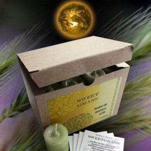 Sweetgrass votive Candle