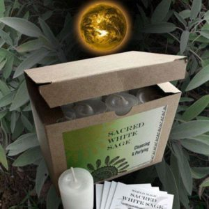 White Sage Votive Candle