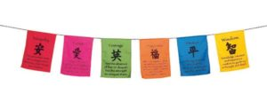 6 Wishes Prayer Flags