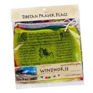Large Windhorse Prayer Flags