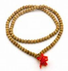 108 bead sandalwood mala