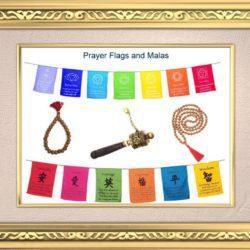 Prayer Flags, Malas, Clothing