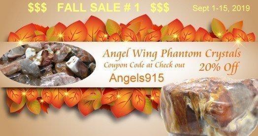 Angel Phantom Quartz Sale - 20% off