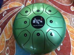 Green Himalaya Blessing Melody Drum