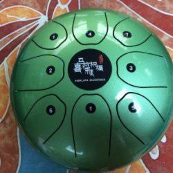 Green Himalaya Blessing Melody Drum