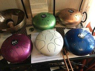 Steel Tongue Drums - Blessing and Chakra