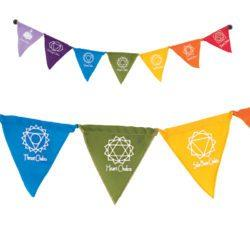 Seven Chakras Magnetic Prayer Flags