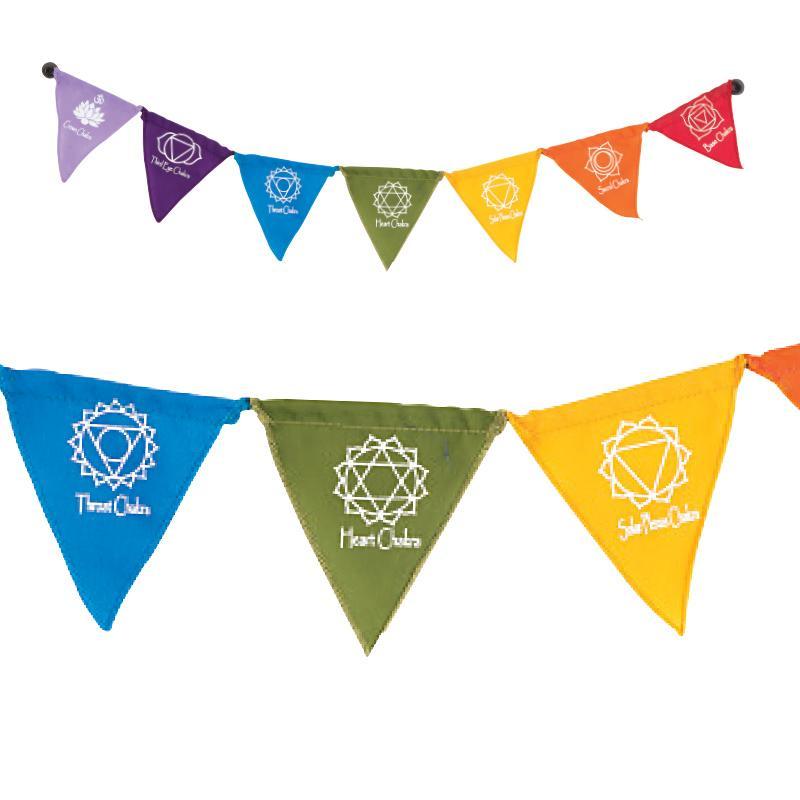 Seven Chakras Magnetic Prayer Flags