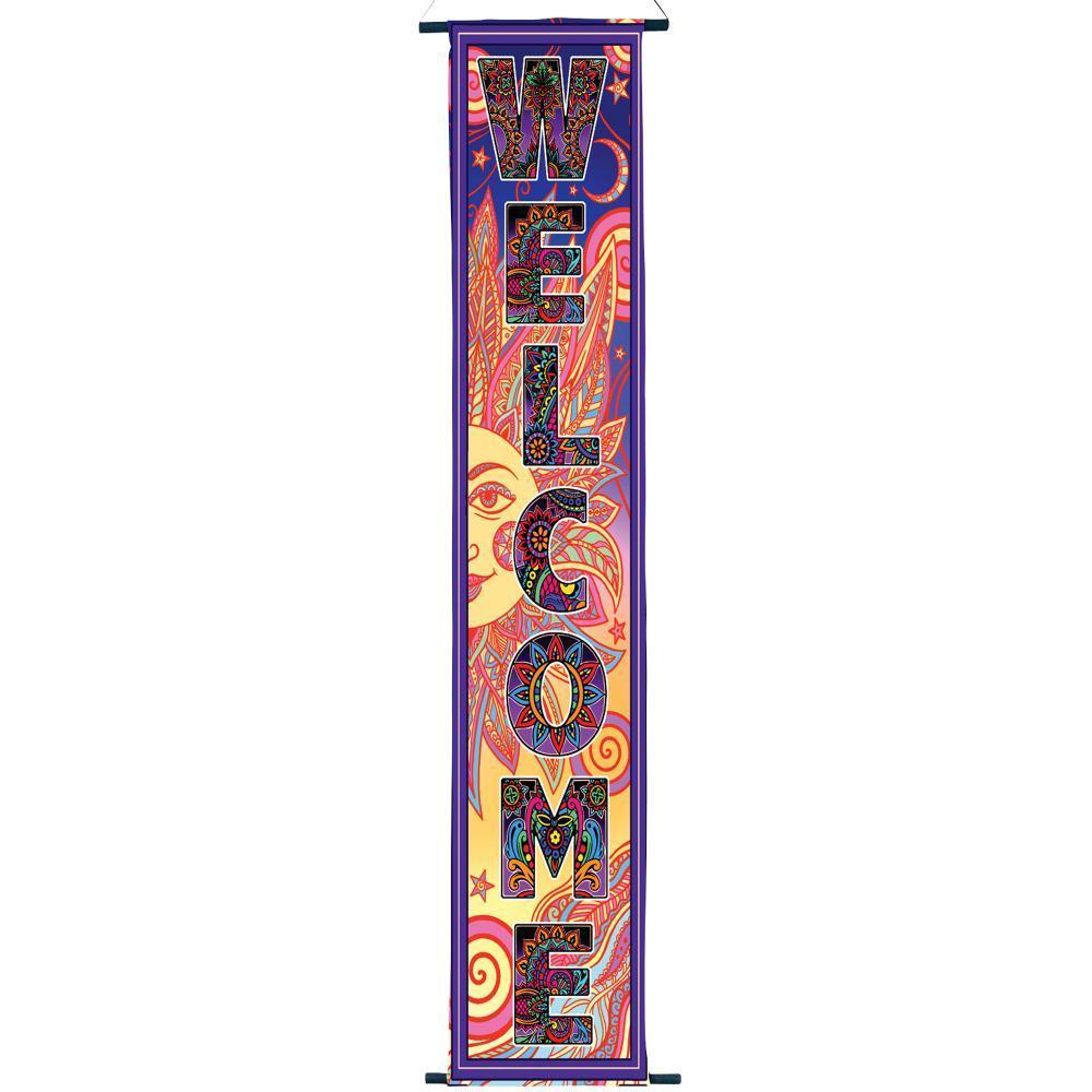 Tibetan Welcome Banner