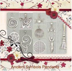 Ancient Cultures Sterling Silver Pendants