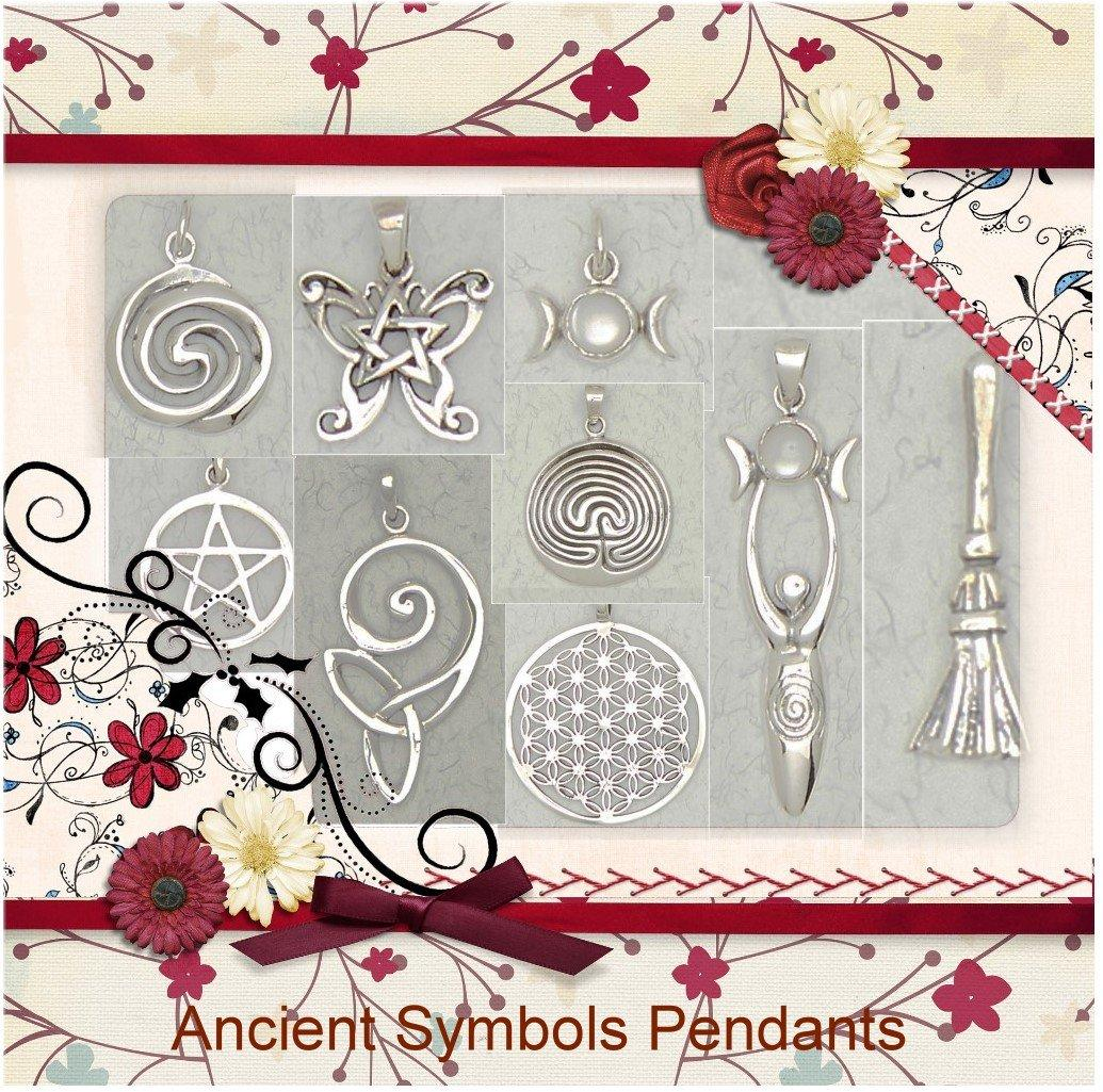 Ancient Symbols Sterling Silver Pendant Collection