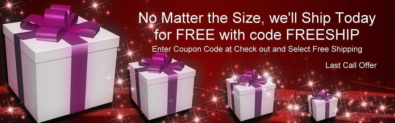 Free shipping at Mountain Valley Center.com