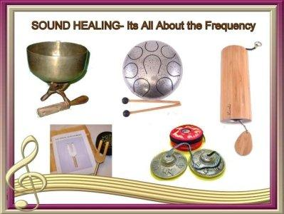 Sound Healing supplies from Mountain Valley Center