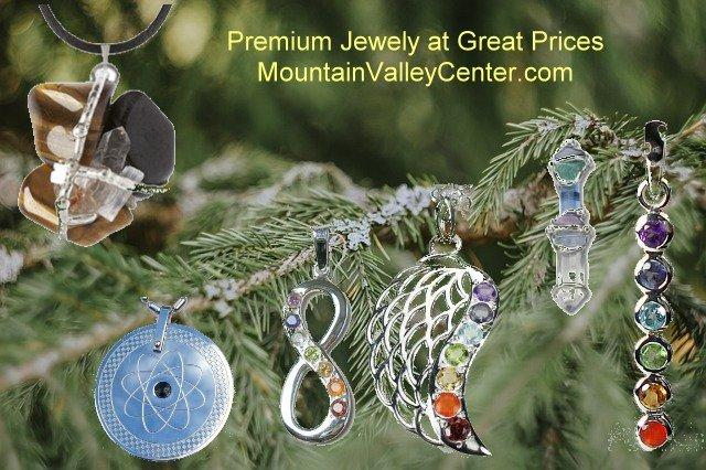 Crystal and Gemstone Jewelry at Mountain Valley Center