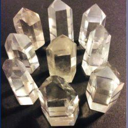 Medium Quartz Crystal Points at MVC