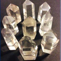 Medium Quartz Crystal Points at MVC