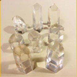 Polished Quartz Crystal Points Small