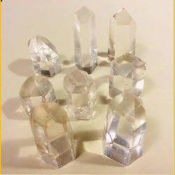 Polished Quartz Crystal Points Small