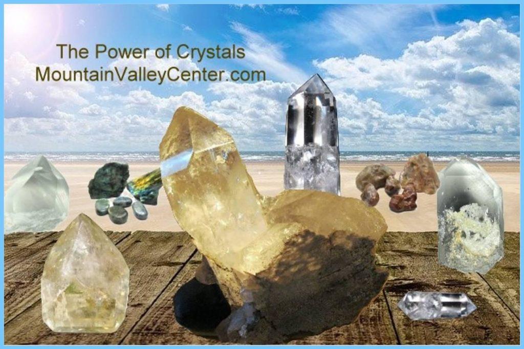 Crystals on Beach Mountain Valley Center