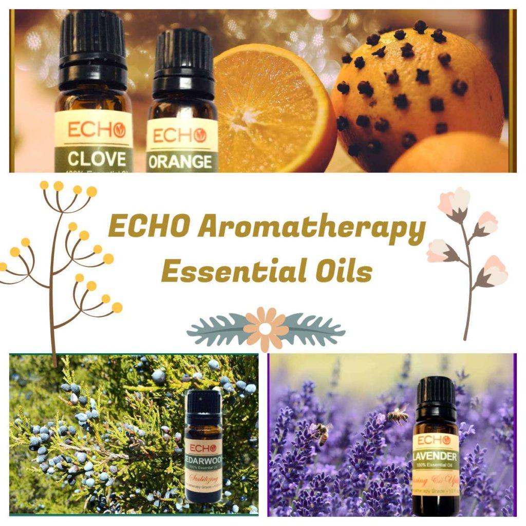 echo aromatherapy essential oils