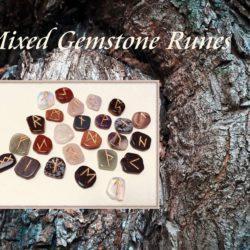 Mixed Gemstone Runes