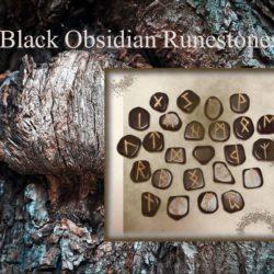 Black Obsidian Runestones